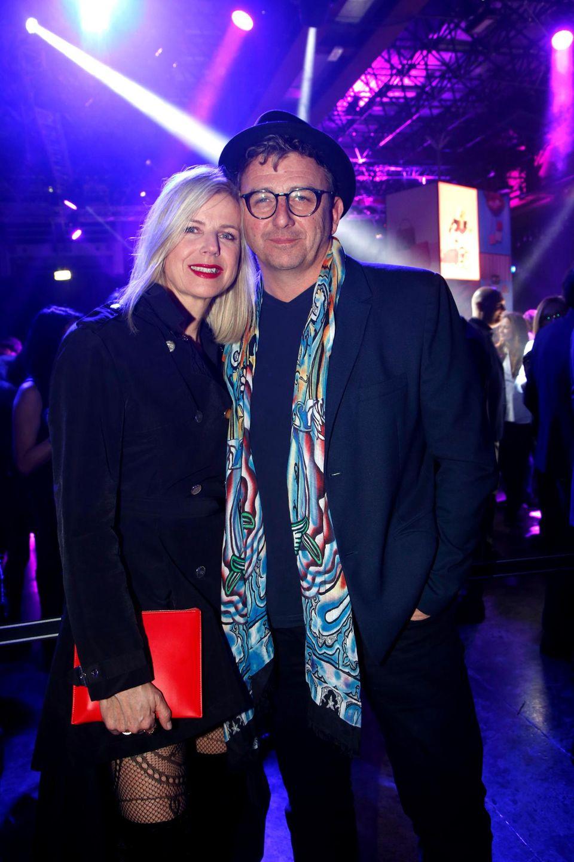 """Hans Sigl und seine Frau Susanne auf der Mailänder """"Fashion Week"""""""