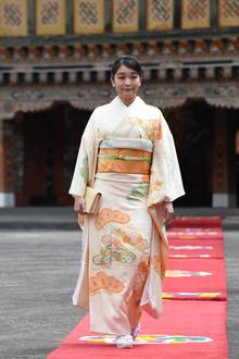 Prinzessin Mako ist die Enkelin des japanischen Kaiser Akihito