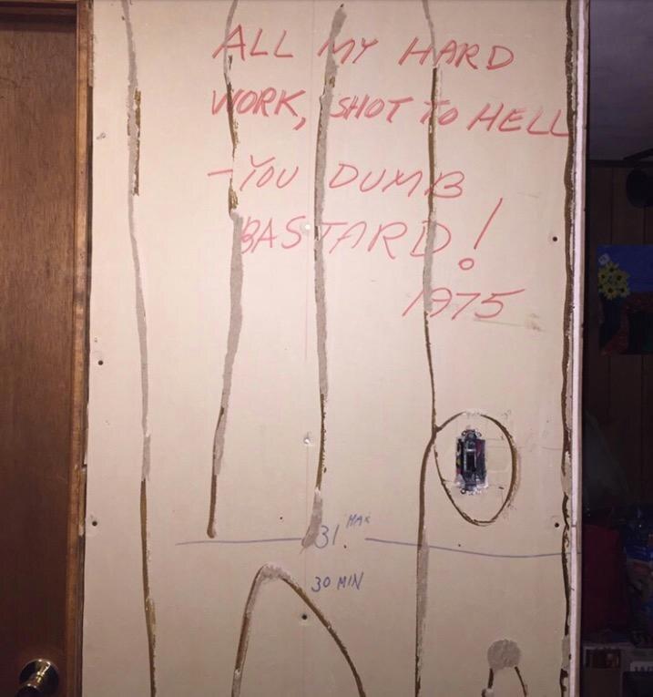 Die Nachricht im Keller