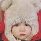 5. Januar 2018  Na, wer ist denn dieses niedliche Bärenkind? Es ist der kleine Leonardo Baldwin, der dick eingepackt ins neue Jahr startet.