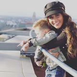 """27. Januar 2018  Mit dem Wort """"Liebe"""" postet Sarah Lombardi dieses Foto von sich und ihrem Sohn Alessio."""