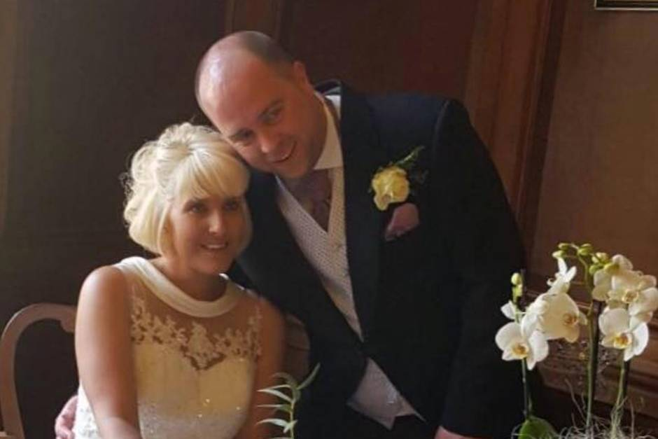 Kelly und Dan wollten, dass ihre Hochzeit perfekt wird. Doch das Buffet war alles andere als das.