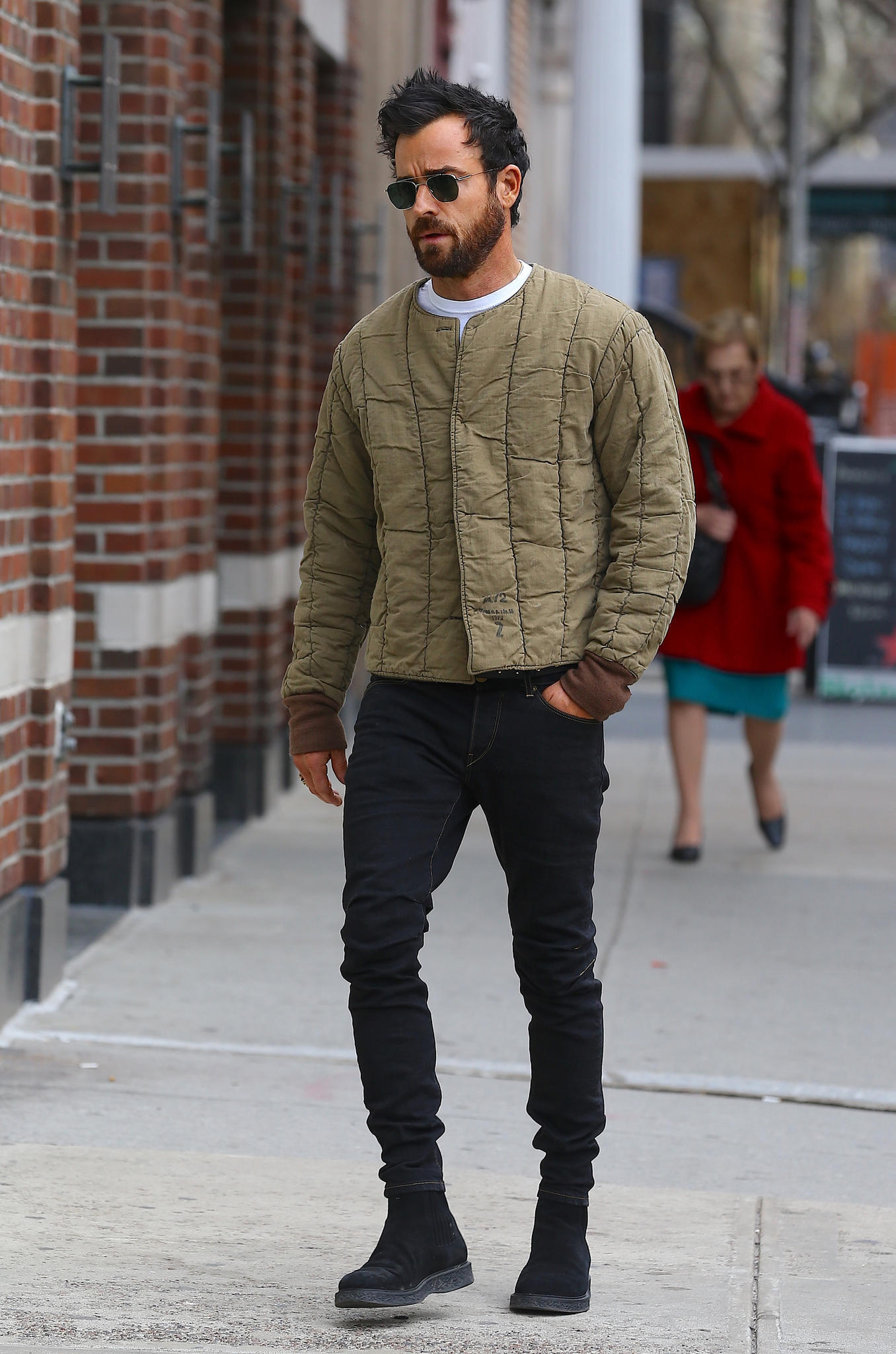 Justin Theroux am 1. März in New York.