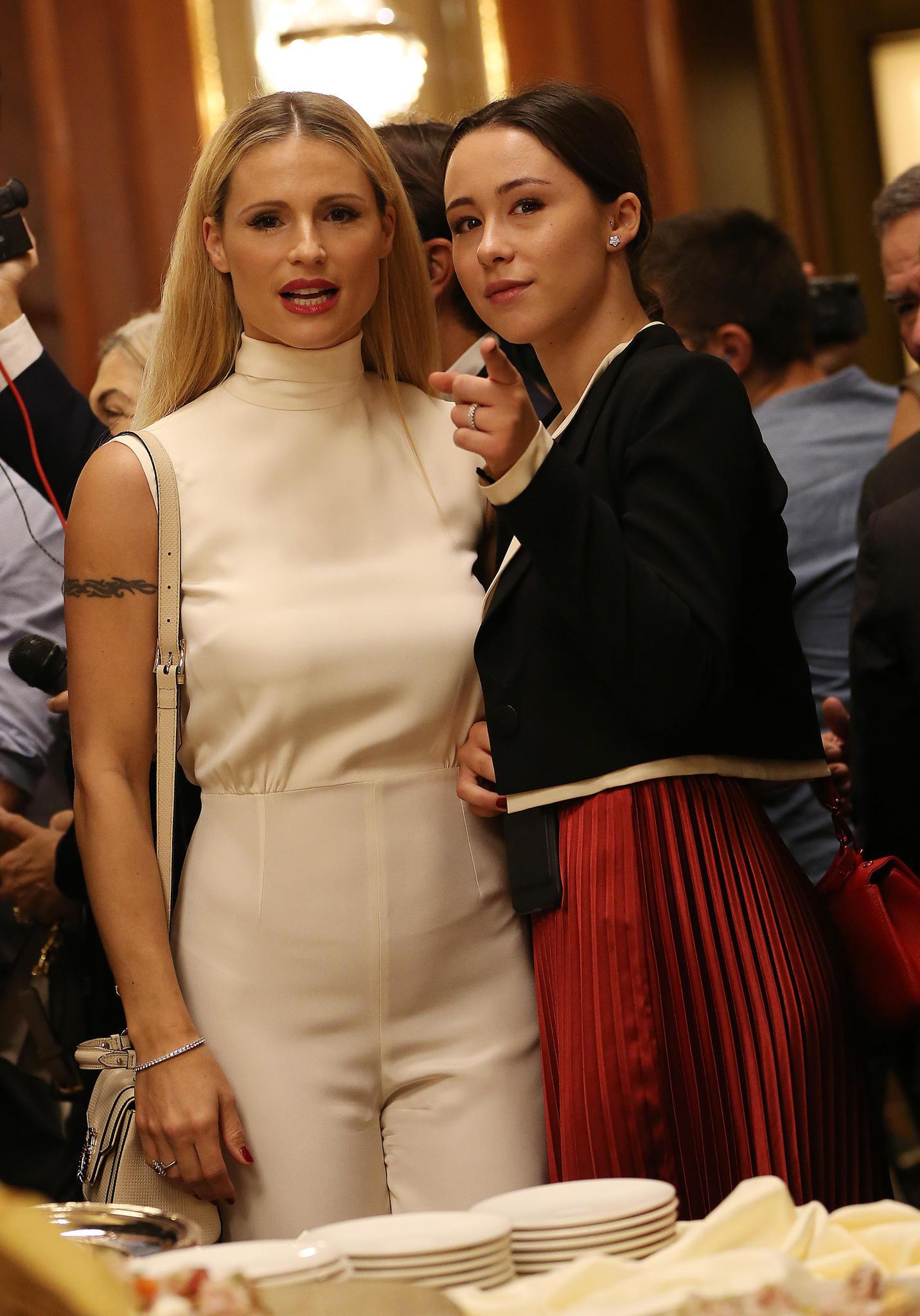 Michelle Hunziker und Tochter Aurora Ramazotti