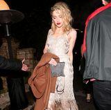 WME's Pre-Oscar Soiree  Amber Heard glänzt in einem Fransenkleid im Stil der 20er-Jahre.