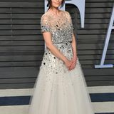 """Suits""-Star Abigail Spencer in Oscar de la Renta"