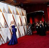 Nicole Kidman verzaubert bei ihrer Ankunft die Fotografen.