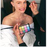 Ob Kate Bosworth beim Anblick dieser farbenfrohen Make-up-Palette Panik bekommen hat? Das glamouröse Ergebnis war es auf jeden Fall wert!