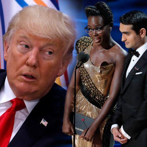 Donald Trump, Lupita Nyong'o, Kumail Nanjiani