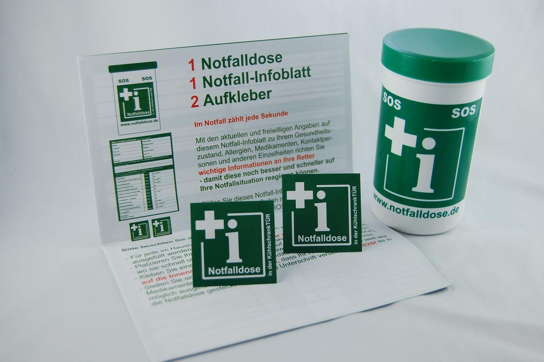 Die Notfalldose, die Leben retten kann.