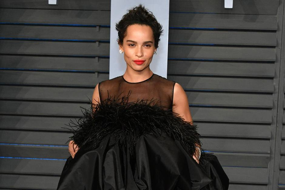Zoe Kravitz in Yves Saint Laurent