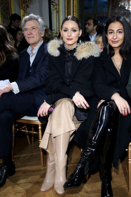 Fashionista Olivia Palermo verpasst kaum eine Show, auch nicht die von John Galliano.