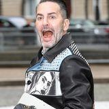 Designer Marc Jacobs ist schon ganz gespannt auf die Fashion-Show von Miu Miu.