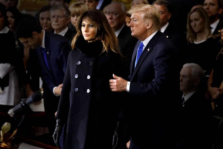 Donald Trump und Melania Trump