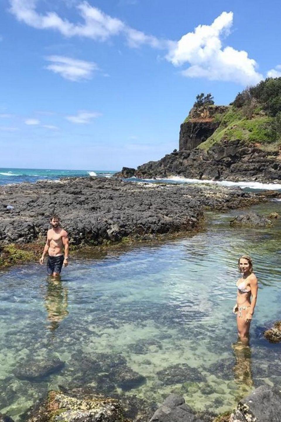 26. Februar 2018  Die Hemsworths entdecken gemeinsam wunderbare Plätze in Australien.