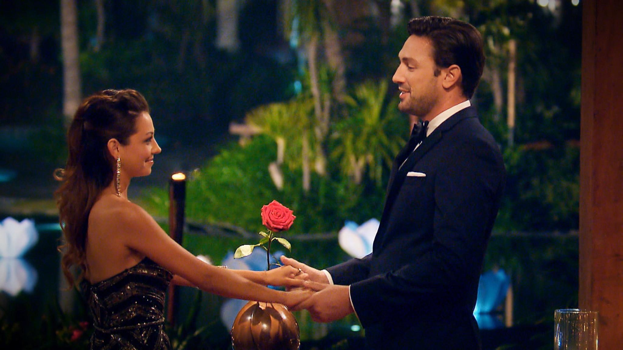 Daniel und Kristina bei der letzten Nacht der Rosen