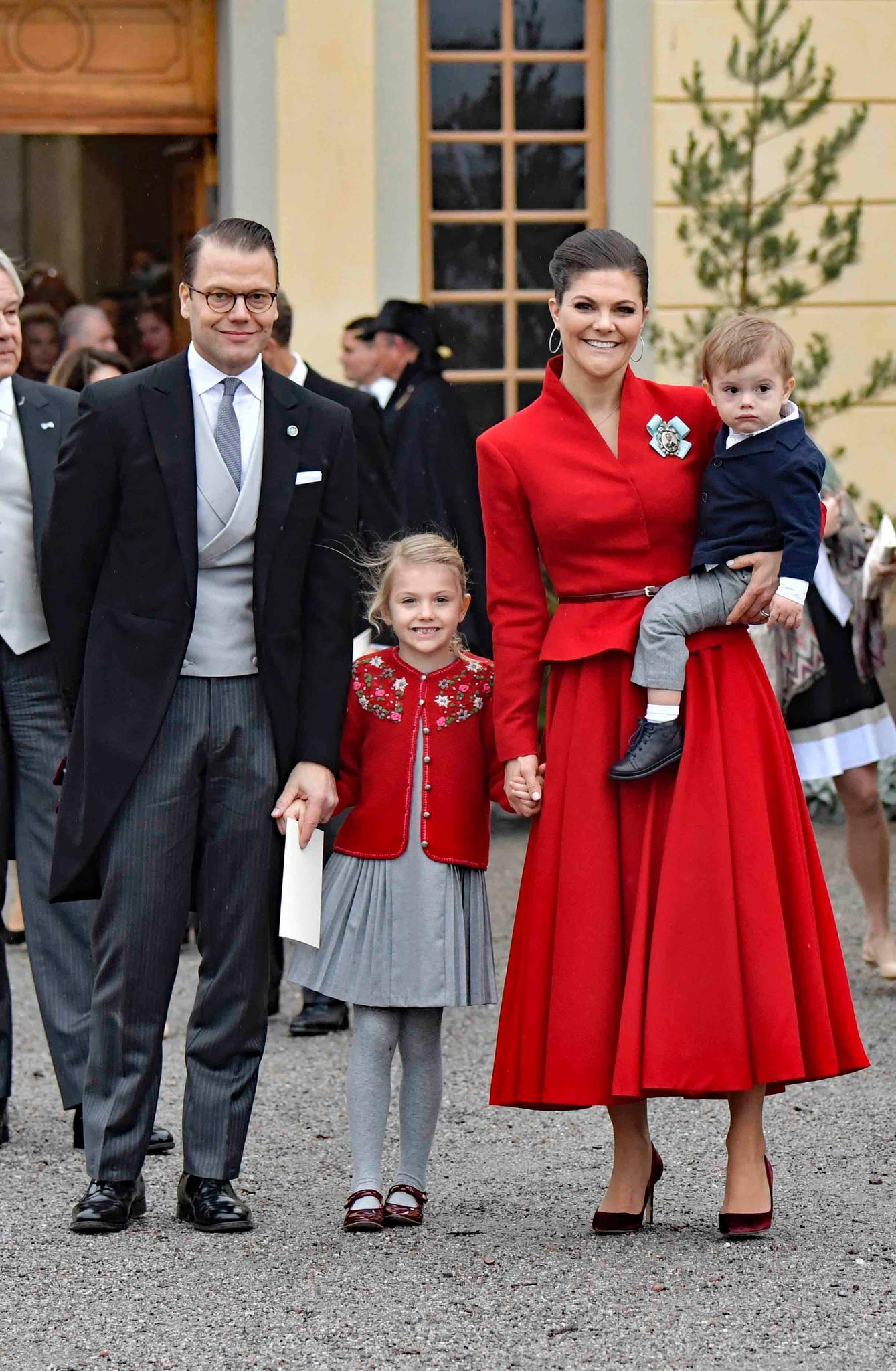 Prinz Daniel, Prinzessin Estelle, Prinzessin Victoria + Prinz Oscar