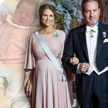 Prinzessin Madeleine und Chris O'Neill zeigen ihr drittes Kind auf Instagram