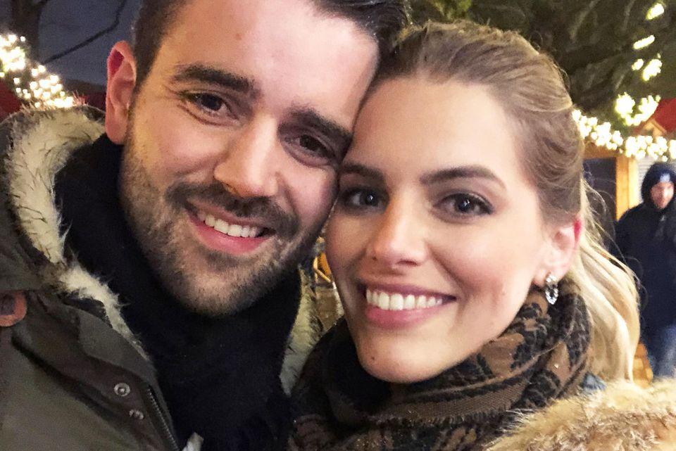 Angelina Kirsch und ihr Freund Mario Dornbach.