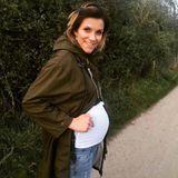 Auf Instagram zeigte Schlagersängerin Anna-Maria Zimmermann immer wieder stolz ihren wachsenden Babybauch. Am 15. Dezember 2017 wurde sie dann Mutter, nun steht sie schon wieder erschlankt auf der Bühne.