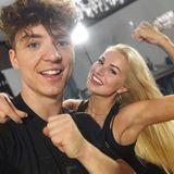 Booom! Volle Kraft voraus! Roman Lochmann ist mit seiner Let's Dance-Tanzpartnerin Katja Kalugina hoch motiviert.