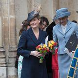 Gräfin Sophie von Wessex gibt sich die Ehre beim Commonwealth Gottesdienst in der Westminster Abbey.