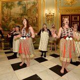Tanzaufführung beim jährlichen Empfang anlässlich des Commonwealth Days.