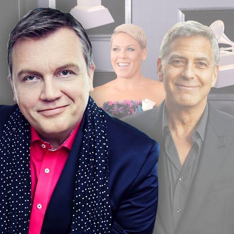 Hape Kerkeling, Pink, George Clooney
