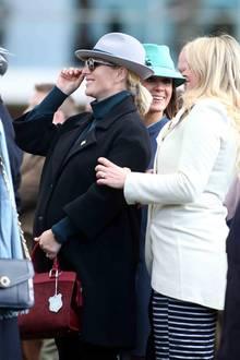 13. März 2018  Zara Phillips Babybauch ist nicht mehr zu übersehen.