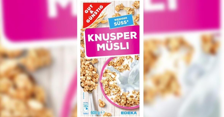 Edeka Knusper Müsli