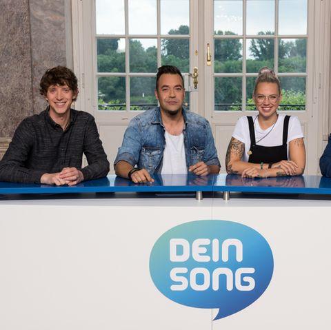 """Dein Song"" Jury 2018: Ole Specht, Laith Al-Deen, Stefanie Heinzmann, Martin Haas"