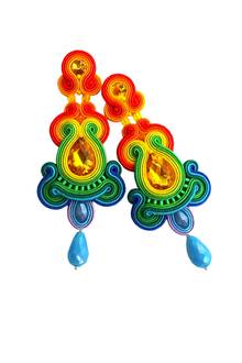 Posamenten-Ohrringe mit Wow-Faktor von Coco's Culture, ca. 160 Euro