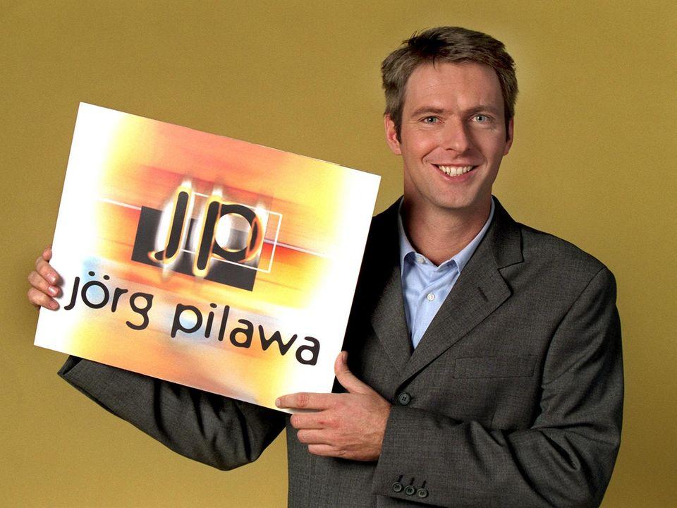 Auch Jörg Pilawa moderierte mal eine trashige Sat.1-Talkshow (1998 - 2000).