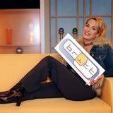 """Britt Hagedorn startete mit ihrer Talkshow """"Britt - Der Talk um eins"""" auf Sat.1 erst im Jahr 2001 und hielt sich sagenhafte 12 Jahre."""