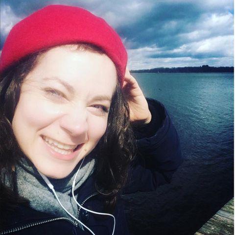 Die erkrankte Christin Balogh meldet sich mit diesem Instagram-Fotos bei ihren Fans