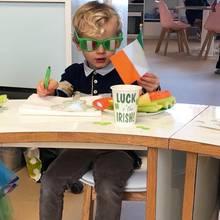 """17: März 2018  """"Luck o' the Irish!"""" Mit diesem süßen Schnappschuss von ihrem kleinen Prinzen Jacques wünscht Fürstin Charlène ihren royalen Fans auf Instagram einen fröhlichen St. Patrick's Day"""