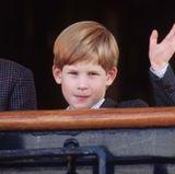 1991  Erst die Einschulung, dann die internationalen Reisen: Prinz Harry wirkt auf der Tour durch Kanada wesentlich reifer als noch vor wenigen Jahren.