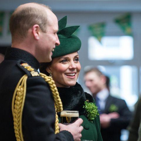 Herzogin Catherine: So entspannt schwanger zum St. Patrick's Day