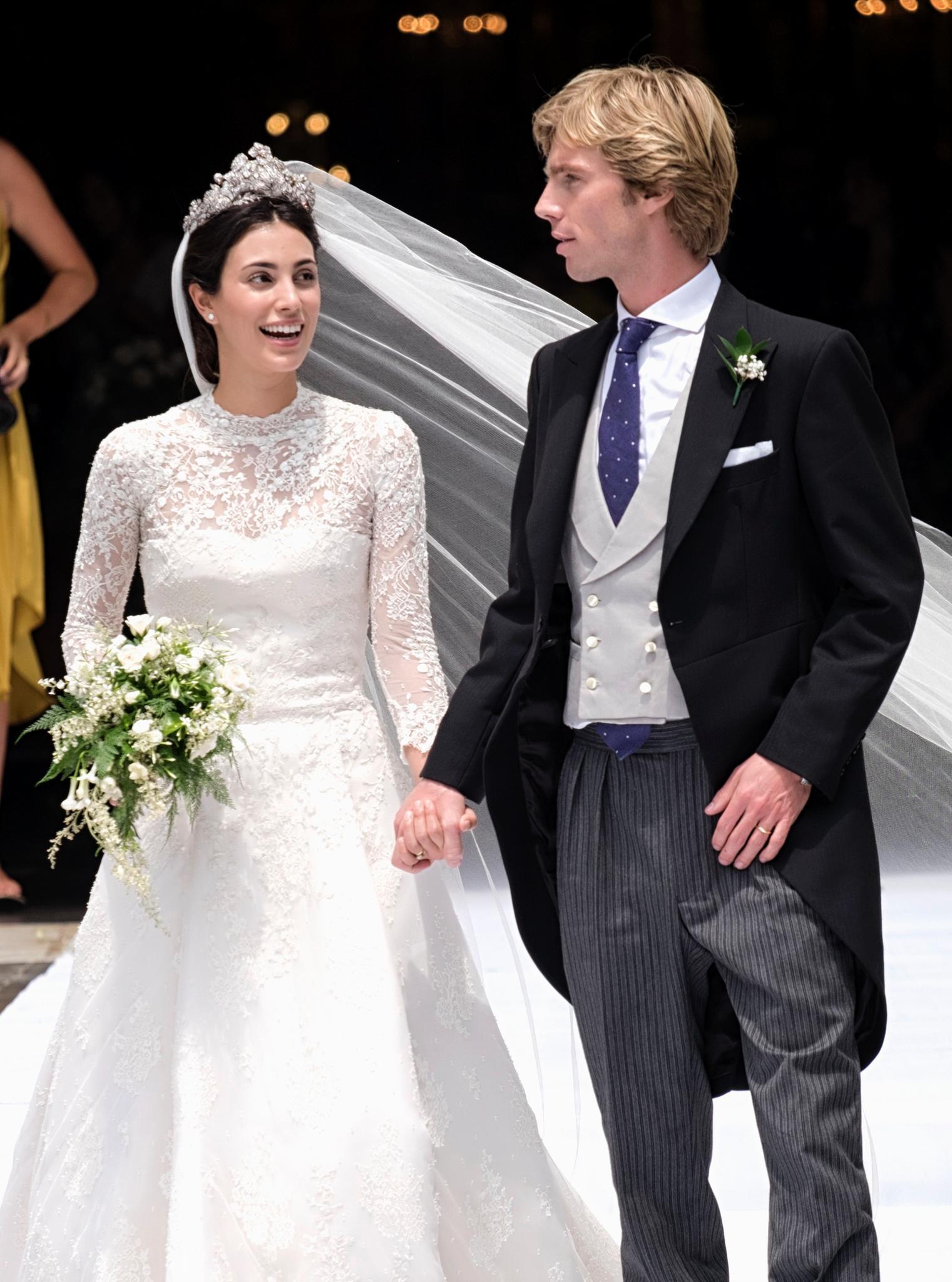 Alessandra de Osma und Prinz Christian von Hannover gaben sich am 16. März ihr Jawort
