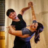 """Bei Judith Williams und Tanzpartner Erich Klann läuft das Tanztraining ja schon ganz gut. """"Yesjuklann"""" lautet der Spitzname des Duos."""