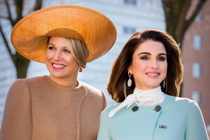 Königin Máxima + Königin Rania