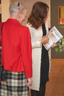 20. März 2018  Königin Margrethe und Kronprinzessin Mary besuchen eine Handarbeitsorganisation in Dänemark.