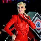 Auf der Bühne zeigt sich Sängerin Katy Perry stets in glitzernden Glamour-Roben. In der Freizeit geht sie es hingegen eher lässig an ...