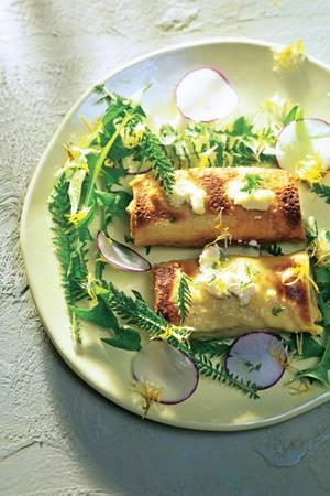Kräuter-Pfannkuchen