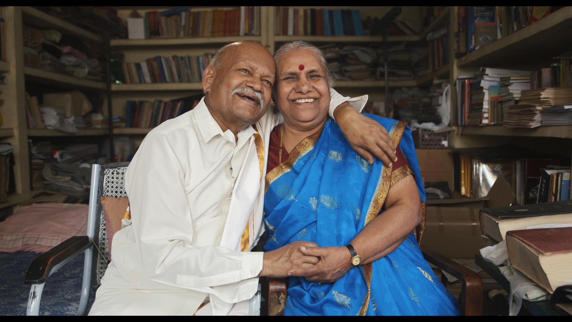 Kamala u. Nagarajayya Hampana (Indien, verheiratet seit 1961)