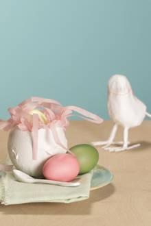 Osternester aus Gips: So basteln Sie diese hübschen Hingucker einfach selber