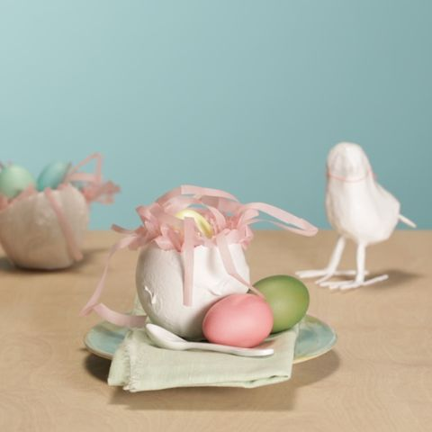 Osternest-Cupcakes: Bunte Fundstücke