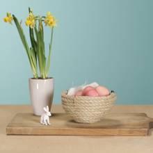 DIY-Deko: Osternest aus Kordeln basteln - so funktioniert's