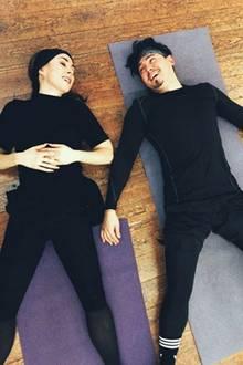 Völlig am Ende? Nein, nur eine kleine Pause für Judith Williams und Tanzpartner Erich Klann.