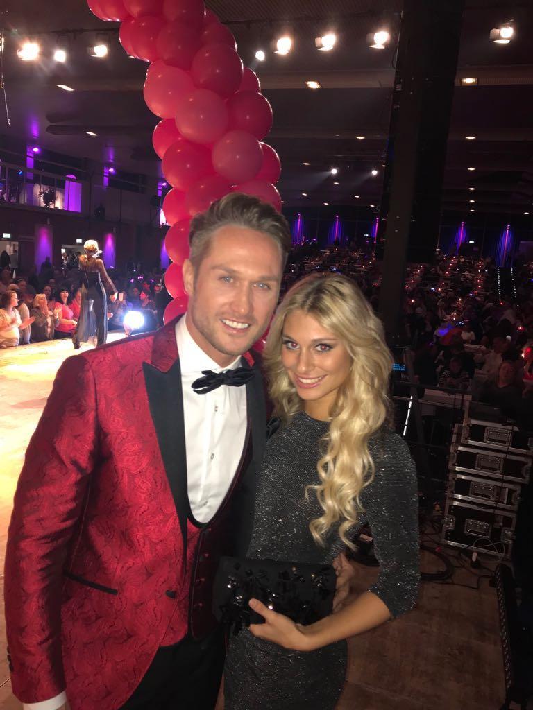 Nico Schwanz mit seiner neuen Freundin Vanessa Schmitt